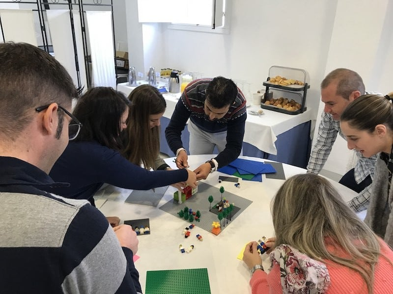 proceso onboarding con lego serious play