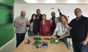 taller de Innovación con lego serious play